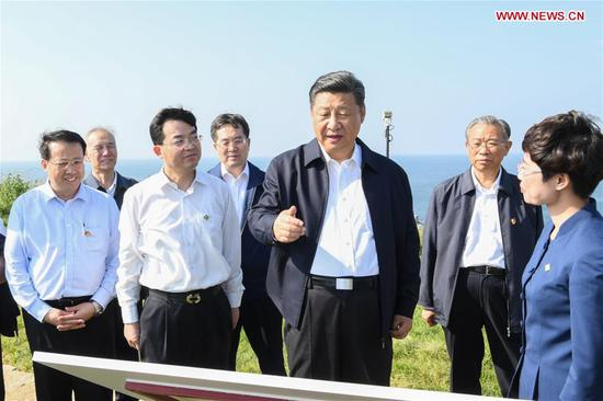 President Xi inspects east China's Shandong