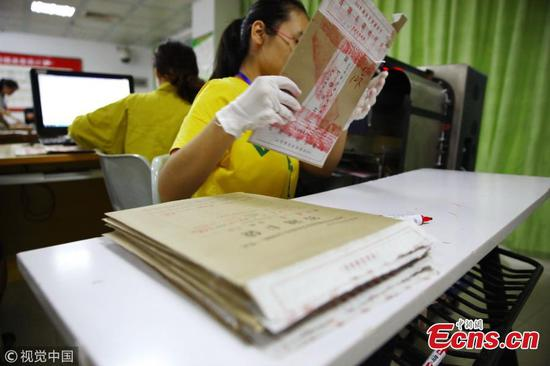 Gaokao test paper graded under tight security in Hainan
