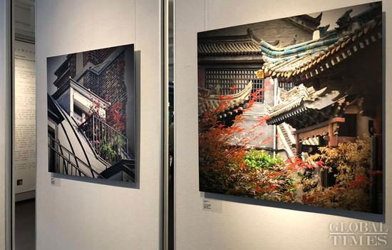 'Dialogue between Daming Palace and Chateau de Versailles' photo exhibition kicks off