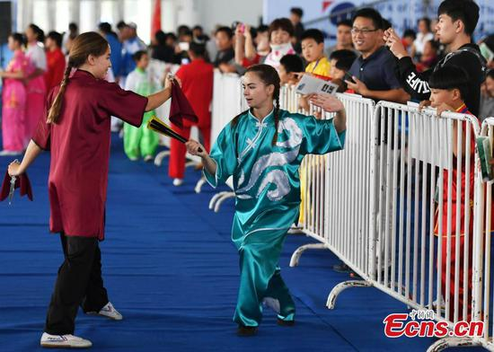 2,200 attend Wushu festival in Cangzhou