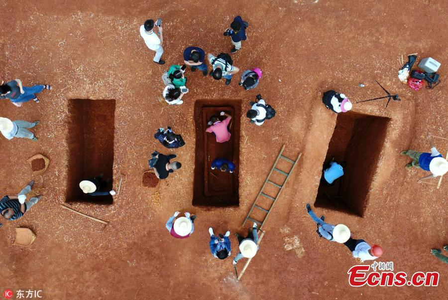 Over 400 relics found in 86 ancient tombs in Hunan